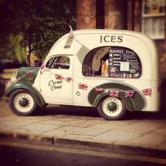Ice cream van in York