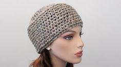 crochet hats for women - YouTube