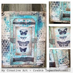 Shabby Chic Hanging .... #timholtz #dylusions