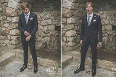 Cesar, el novio {Foto, Evenpic} #novio #groom #tendenciasdebodas