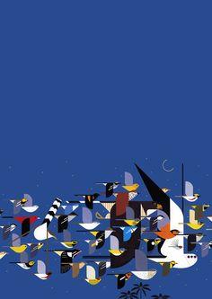 The Birds.Charley HARPER