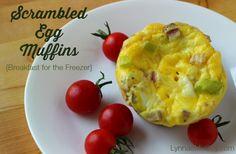 Scrambled Egg Muffins - Breakfast for the Freezer