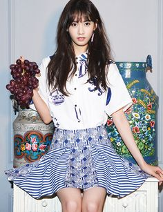 Girls' Generation SNSD Im Yoona Ceci Magazine April 2015 Pictures 3