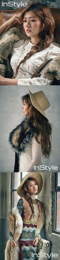 Jung So Min enjoys the remainder of autumn 'InStyle' Jung So Min, Pretty Asian, Beautiful Asian Girls, Korean Actresses, Korean Actors, Korean Celebrities, Celebs, Baek Seung Jo, Playful Kiss
