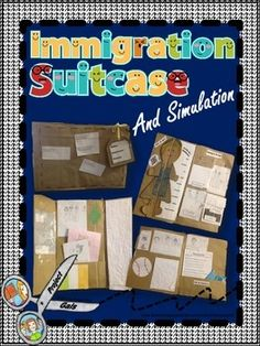 Give students the opportunity to experience the many challenges and emotions that immigrants faced as they sought a better life here in America through this Immigration Suitcase and Simulation.