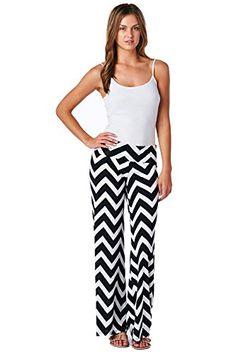 f2dae6b464 Women s Aztec Chevron Tribal Print High Waist Wide Leg Long ... Tribal  Prints