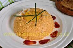 Tvarůžkový tatarák – Maminčiny recepty Camembert Cheese, Dairy, Treats, Cake, Desserts, Food, Sweet Like Candy, Tailgate Desserts, Goodies