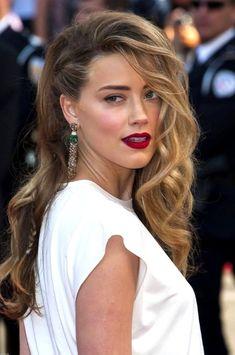 Cannes 2014 : zoom sur le side-hair tressé d'Amber Heard …