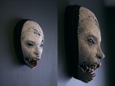 Mask - 'Shark Grin' by torvenius.deviantart.com on @deviantART