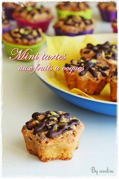 Mini tartes aux fruits à coques