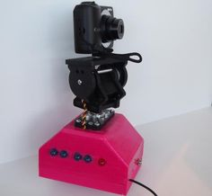 Accessible motorized Pan-Tilt camera mount