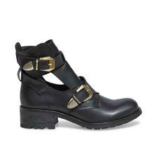 Cut out boots Eram Biker, Style Inspiration, Outfits, Shoes, Boots, Suits, Zapatos, Shoes Outlet, Shoe