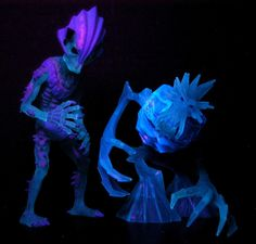 Puppet Master Japan Excl Totem and Disney Ice Titan under blacklight!