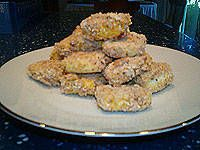 National Soyfoods Month- Recipe #9 - Breaded Tofu Nuggets