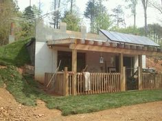 """POSTED BY :: Daniel LeVan """"This is my underground house. I live off grid in North Carolina"""""""
