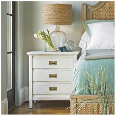 Coastal Living™ by Stanley Furniture Haven's Harbor 3 Drawer Nightstand | Wayfair