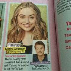 #lucaya #purfectmatch #sabrinacarpenter #peytonmeyer #peybrina
