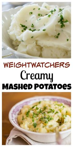 Weight Watchers Creamy Mashed Potatoes Recipe with SmartPoints. Easy. Low Calorie. Delicious.