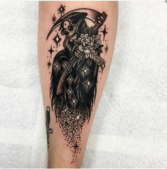 All My Love Grim Reaper - Done by Roberto Euán at White Lotus Tattoo in Ventura CA Japanese tattoo sleeve Tattoo Tod, Death Tattoo, Future Tattoos, Love Tattoos, Tatoos, Forarm Tattoos, Feminine Tattoos, Art Tattoos, Piercing Tattoo
