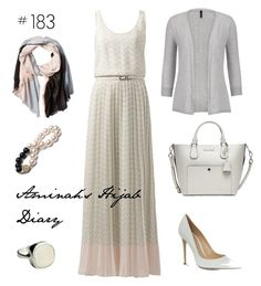 """#183 Tommy Hilfiger Dress"" by aminahs-hijab-diary ❤ liked on Polyvore"