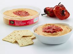 Prepare to awaken your taste buds with our delicious Roasted Red Pepper Hummus. Non-GMO verifiedand gluten free, thiscrowd-pleasing favorite has a sweet roasted red pepper finish and is the perfect snack to get your party started.