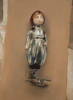 """Indian boy"" / 18cm x 24cm / oil, mdf panel"