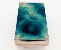 This coffee table lets you see the depths of the ocean using layers of glass and wood - Lost At E Minor: For creative people