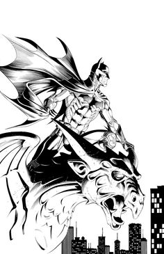 Batman by Mike S. Miller