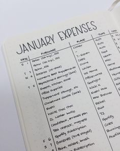 Bullet Journal Budget Layouts To Master Your Finances - Finance tips, saving money, budgeting planner Bullet Journal Budget, Bullet Journal Simple, Bullet Journal Ideas Pages, Bullet Journal Spread, Bullet Journal Inspo, Bullet Journal Layout, Journal Pages, Bullet Journal Expense Tracker, Bullet Journal Spending Tracker