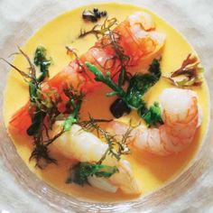 Ceviche de crustáceos #recipes #cuisine