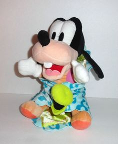 Disney Babies GOOFY Baby Plush Doll with Security Blanket  #Disney #mickeymouse