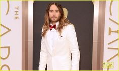 jared leto | Jared Leto in Saint Laurent - 2014 Oscars