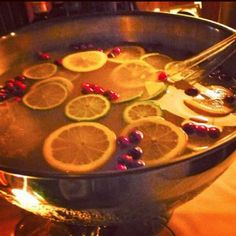 Prohibition Punch at Employees Only Repeal Day Party