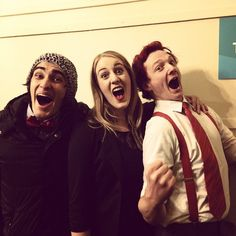 """@impromptunes's photo: """"These three amazing actors have now performed in their first show with Impromptunes! It really was THAT exciting! Congratulations guys! #impromptunes  #cherrypopped #mfringe #mylittleponyarmageddon"""""""