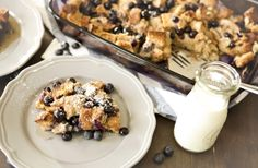 Want a happy morning family? Then you need to have a Blueberry French Toast Casserole ready to pop in the oven for breakfast!