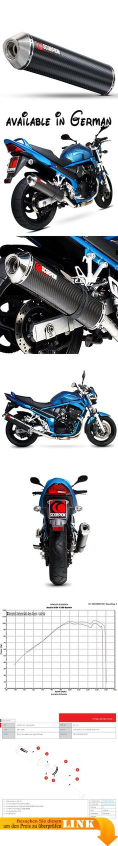 B074WFB688 : Scorpion esi80ceo Motorrad Auspuff. Lebenslange Garantie. Fit & Ride. Crash Schäden garantieren