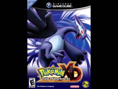 2005 Nintendo Gamecube Pokemon XD: Gale of Darkness game - 3d Pokemon, Pokemon Games, Nintendo Pokemon, Gamecube Games, Playstation Games, Video Game Music, Video Games, Pokemon Trainer Names, Shadow Lugia