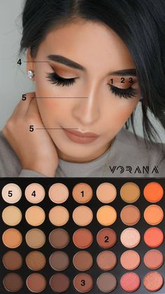 morphe 350 pallet tutorial #makeup #beauty #morphe350