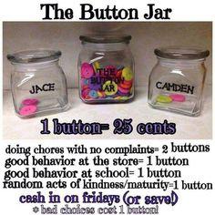 Rewards for chores and good behavior