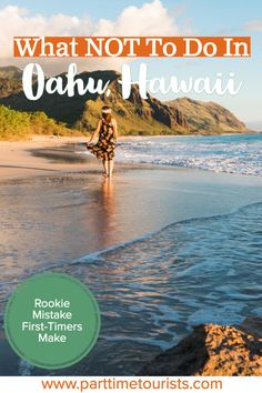 Avoid this rookie mistake when visiting oahu, hawaii! Things to see, what to do, and many other tips and tricks on how to have a perfect vacation in hawaii! Hawaii Vacation, Oahu Hawaii, Hawaii Travel, Beach Trip, Mexico Travel, Visit Hawaii, Hawaii Beach, Cancun Hotels, Beach Hotels