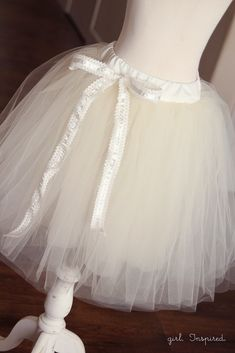 How to Make a Tutu - girl. Inspired.
