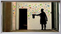 butterflies, art, creative, drawing, butterfly, graffiti, painting, art, artsy, cute, cute, cute