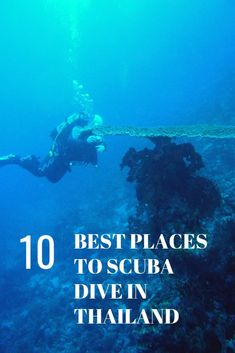 10 Best Places To Scuba Dive in Thailand. Thailand is one of countries in South East Asia which is a wonderful underwater destination for scuba dive. It's prefect for both experienced and beginner scuba divers. With is calm and clear water, it's nearly perfect for training and exploring sea.  We select them based on the combination of marvellous scuba dive point, access to get professional diving service and notably, the availability of diving shops.