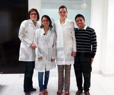 Parte del equipo de Laboratorios Clínicos, en Auditoría de Certificación.
