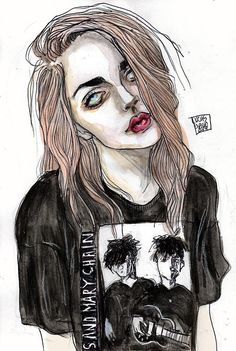 Frances Bean by Lucas David