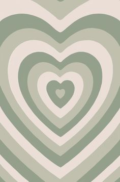 Heart Wallpaper Hd, Iphone Wallpaper Green, Sage Green Wallpaper, Hippie Wallpaper, Iphone Wallpaper Tumblr Aesthetic, Iphone Background Wallpaper, Retro Wallpaper, Aesthetic Wallpapers, Cute Patterns Wallpaper
