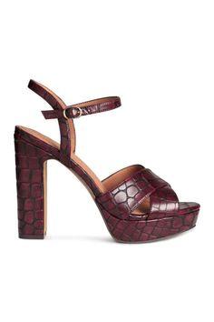Sandalias de plataforma   H&M