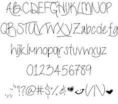 LiveLaughLove font by ByTheButterfly - FontSpace