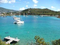Blue Vista @ Water Island - Blue Vista: Ocean Front Villa at Water Island USVI - Water Island - rentals Water Island, Waterfront Cottage, Island Villa, Island Blue, Virgin Islands, Palace, Caribbean, Condo, Aqua
