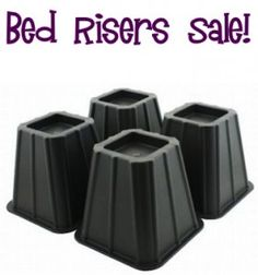 Bed Risers Sale